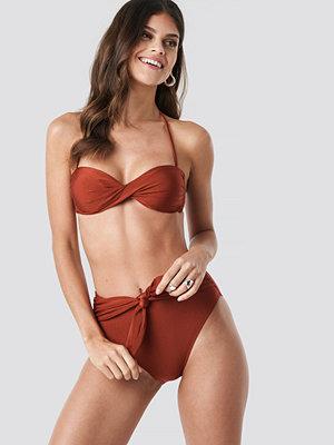 Trendyol Front Brace Bikini Bottom brun