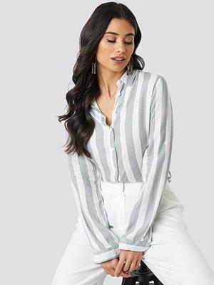 Trendyol Tulum Striped Shirt grå