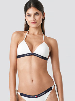 Tommy Hilfiger Triangle Fixed Bikini vit