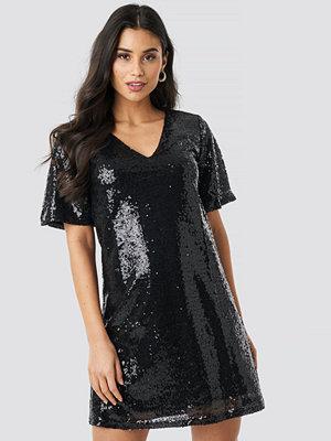 Festklänningar - Rut & Circle Lulu Sequins Dress svart