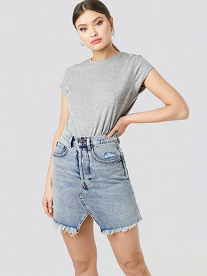 Cheap Monday Shrunken Skirt blå