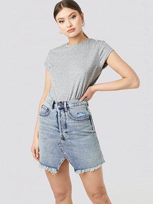 Cheap Monday Shrunken Skirt blå
