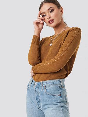 Mango Agus Sweater brun