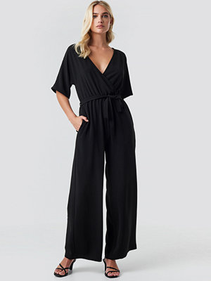 Jumpsuits & playsuits - Rut & Circle Ofelia Jumpsuit svart