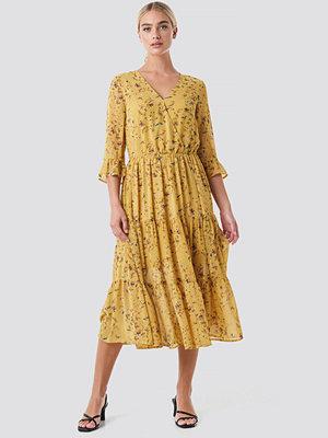 Rut & Circle Panel Maxi Dress gul