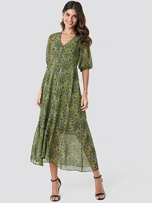 Mango Leonie Dress grön