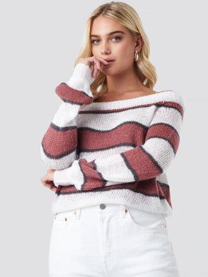 Rut & Circle Evelyn Off Shoulder Knit multicolor