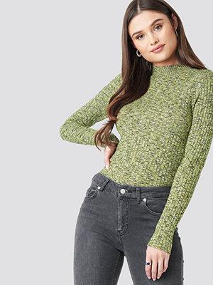 Mango Amazona Sweater grön