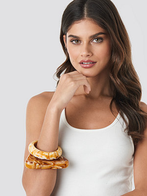 Mango smycke Simone Bracelet brun beige