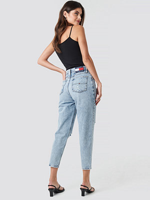 Tommy Jeans High Rised Tapered Jeans blå
