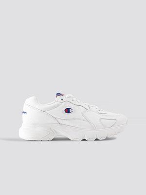 Sneakers & streetskor - Champion Cwa Low Cut Leather Sneaker vit