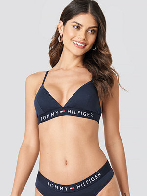 Tommy Hilfiger Triangle Flag Bra blå