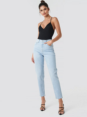Mango New Mom Jeans blå