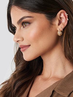 Donnaromina x NA-KD smycke Festival Earrings Set guld