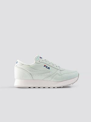 Sneakers & streetskor - Fila Orbit Zeppa L Wmn grön