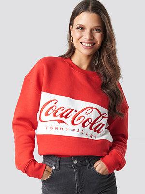 Tommy Jeans Tommy x Coca Cola Crewneck röd