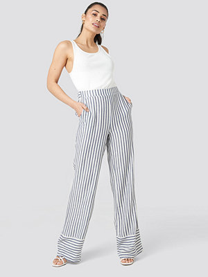 Trendyol randiga byxor Yol Stripe Wide Pants multicolor