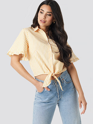 Trendyol Striped Binding Shirt gul