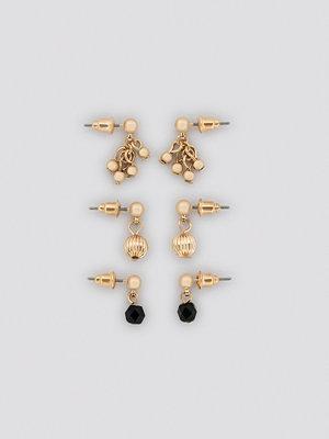 NA-KD Accessories smycke Mixed Mini Earring Set guld