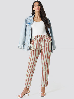 Trendyol randiga byxor Milla Striped Pants multicolor
