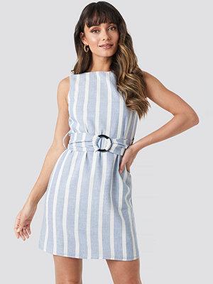 Trendyol Tulum Waistband Mini Dress blå