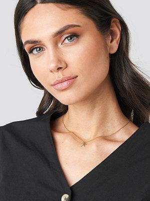 NA-KD Accessories smycke Mini Sea Star Necklace guld