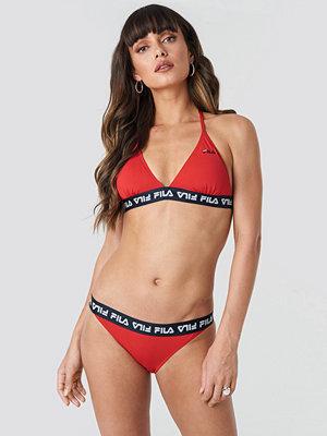 Fila Sally Bikini Bottom x NA-KD röd