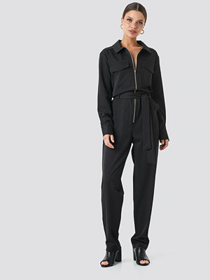 Jumpsuits & playsuits - Sisters Point Emmi Jumpsuit svart