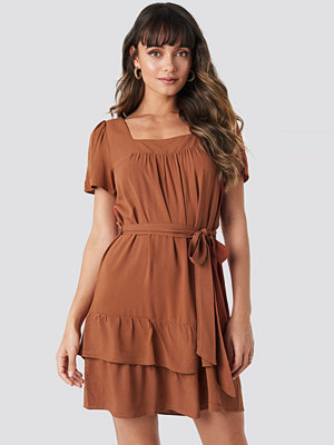 Trendyol Wos Mini Dress brun