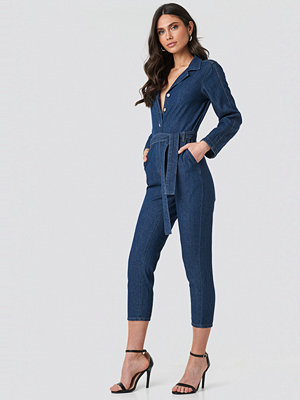Jumpsuits & playsuits - Mango Milo Jumpsuit blå