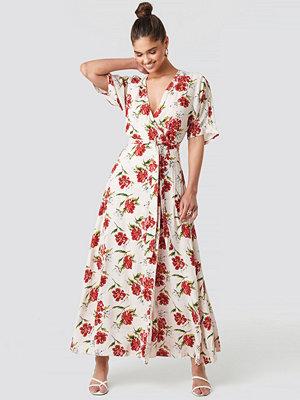 Mango Byron Dress vit multicolor