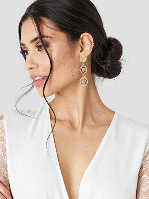 Luisa Lion x NA-KD smycke Coin Earring guld