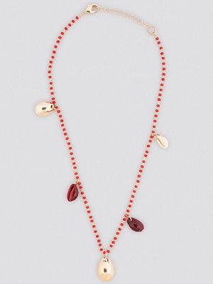 Mango smycke Fui Necklace röd