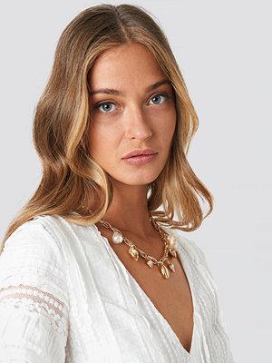 NA-KD Accessories smycke Multi Sea Pendant Necklace guld