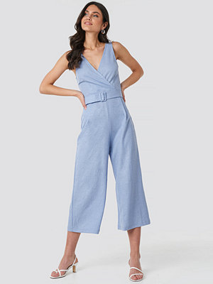 Jumpsuits & playsuits - Mango Moni Jumpsuit blå