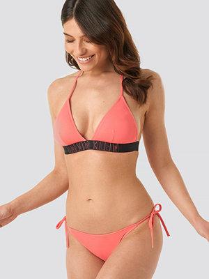 Calvin Klein Cheeky String Side Tie Bikini rosa