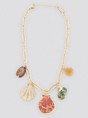 Mango smycke Tulum Necklace guld