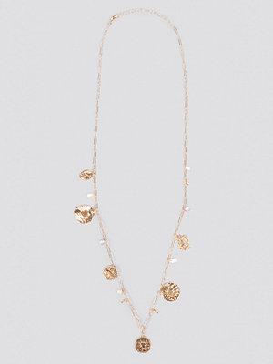 Mango smycke Luz Necklace guld