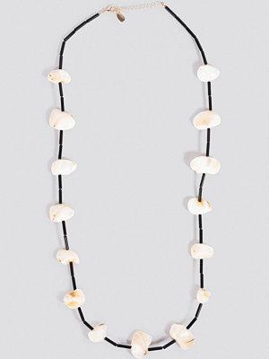 Mango smycke Bahamas Necklace svart vit