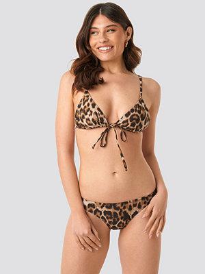 NA-KD Swimwear Bikini Panty brun