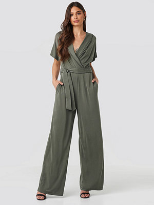 Jumpsuits & playsuits - Mango Shea Jumpsuit grön