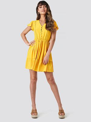 Trendyol Milla Mini Dress gul