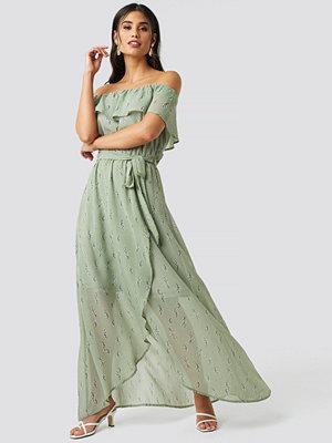 Rut & Circle Lilly Long Dress grön