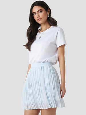 NA-KD Mini Pleated Skirt blå