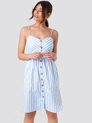 Rut & Circle Stripe Dress blå multicolor