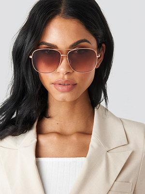Solglasögon - Mango Mint Sunglasses guld