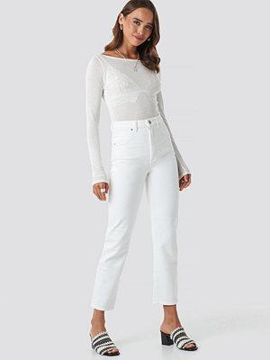 Abrand A 94 High Slim Jeans vit