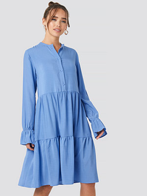 NA-KD Trend Solid Shirt Dress blå