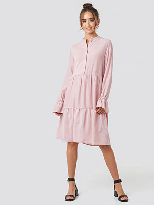 NA-KD Trend Solid Shirt Dress rosa