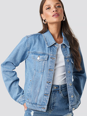 NA-KD Regular Fit Denim Jacket blå